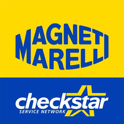 Logos de Magneti Marelli y Checkstar